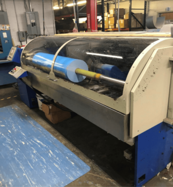 Log or Single Knife Slitting Machine Pittsburgh   Tom Brown, Inc.